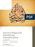 Internet of Things (IoT) and Android-based Automation System