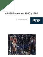 Argentina Entre 1945 y 1960