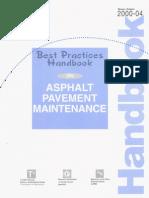 Asphalt Pave Maint