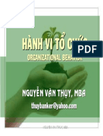 Tai Lieu Hanh Vi to Chuc - Nguyen Van Thuy