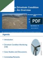 Wind Turbine Drivetrain Condition