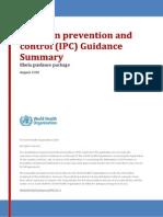 WHO EVD Guidance IPC 14.1 Eng