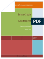 ACCA 305 Extra Credit Assignment