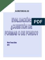 Evaluacion Curso de Aspirantes a Directores Del Ces Cetp