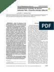 Screening of Antibacterial Activity of Mucus