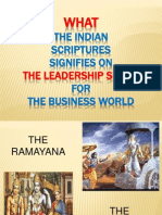 Leadership From Indian Epics