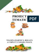 Proiect Tematic-Toamna Harnica, Bogata