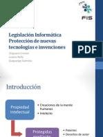 Presentacion Legislacion Informatica