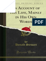 An Account of His Life Mainly in His Own Words