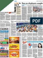 STOP Elephant trade with animal abuse in Sonepur Cattle Fair - Abhishek Kadian