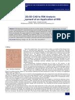 RKB Bearing FEA analysis