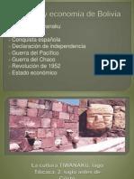 Historia y Economía de Bolivia