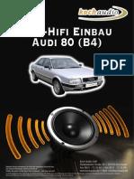 Kochaudio Einbau Audi80 b4
