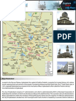 Map of Hyderabad