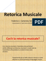 Retorica Musicale