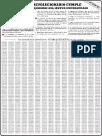 Listado Petrorinoco N°25 -Notilogia