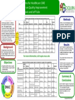 2012 OQUIN STARBURST Lean Six Sigma for Healthcare Poster Apr 5 2012 A