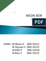 Power Point Mesin Bor