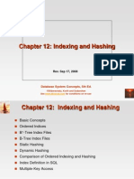 Chapter 12 Indexing and Hashing
