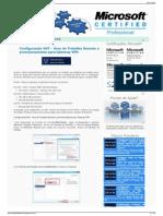 Configurando NAT - Área de Trabalho Remota e Provisionamento Para Gateway VPN