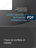 Lung Cancer Lecture