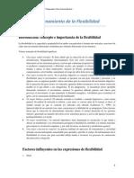 Especialización en Felxibilidad- Técnicas - San Luis- Córdoba