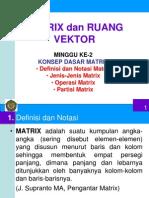 M2-Konsep Dasar Matrix