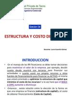 FCI_Unidad 2.1_Estrucutura y Costo de Capital
