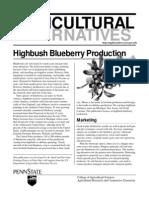 Highbush Blueberry Economics