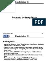 Electronica II 2010 2011 Resposta Frequencia