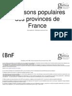 Chanson Populaires Des Provonces de France