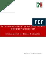 31-10-14 Ley de ingresos 2015