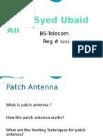 35523493 Rectangular Patch Antenna Design With Ansoft