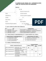 PROGRAMACIÓN CURRICULAR 2014 tercero cuarto quinto quimica.doc