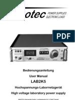 LAB2K5 Manual