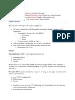 Civ Pro Outline 2011