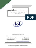 Clause 52 Optical PMD Testsuite v0.1