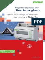 Eberle Ice Detector - Brosura - Ro