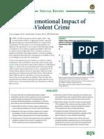 Socio-emotional Impact of Violent Crime