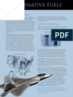 Air Force Alternative Fuels(1)