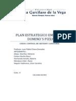 Auditoria Plan Estrategico Dominosz