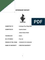 Pakistan Steel - Internship Report-libre