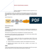WebService to WebService Synchronous Scenario