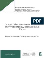 Cuadro Basico de Medicamentos IMSS