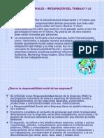 Responsabilidad Social Integración Trabajo y Vida Social