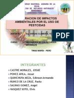 Valoracion de Impactos Ambientales Por El Uso De Pesticidas