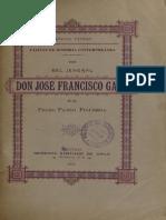 Vida Del Jeneral Jose Francisco Gana. (1894)