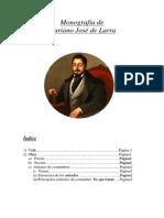 Monografía de Mariano Jose de Larra