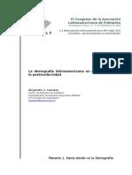 Congreso Asociacion Latinamercana de Poblaciones