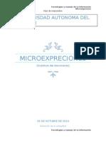 Microexpreciones